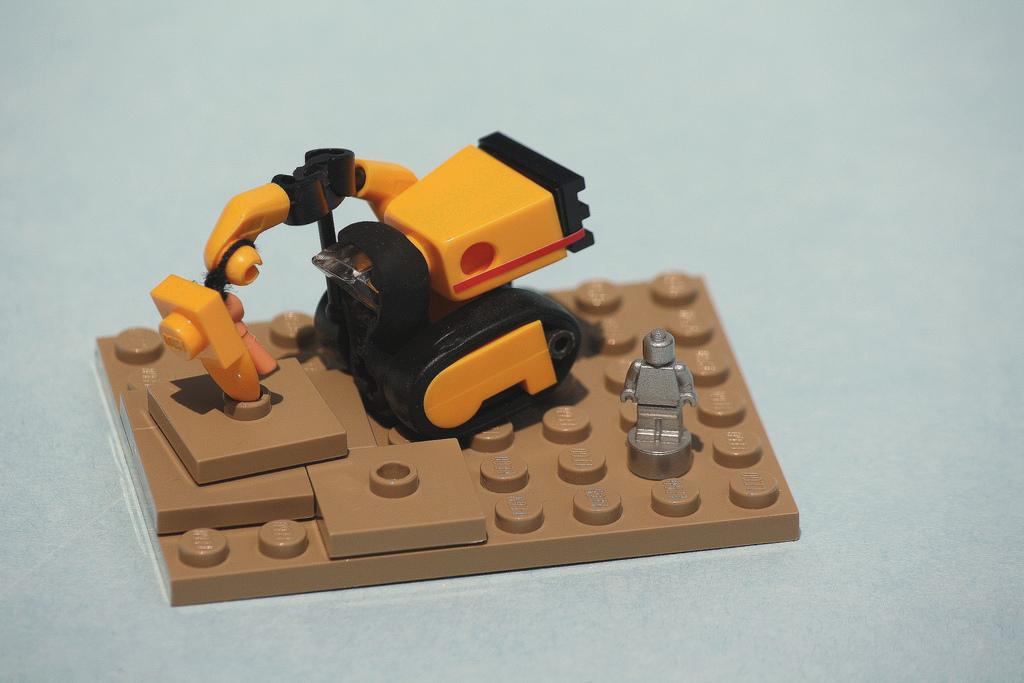 Lego Schaufelbagger