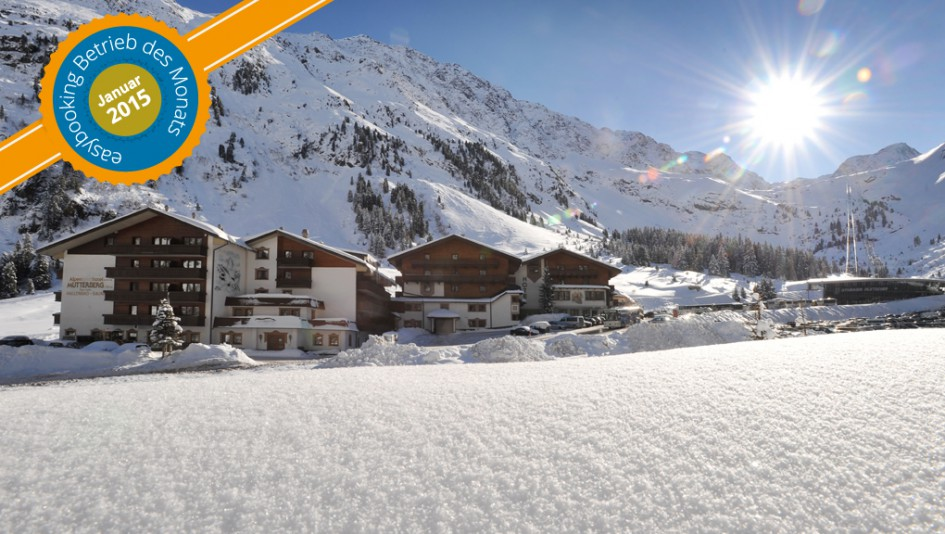 Best Practice Preisträger im Januar 2105 - Alpinsporthotel Mutterberg in Neustift im Stubaital