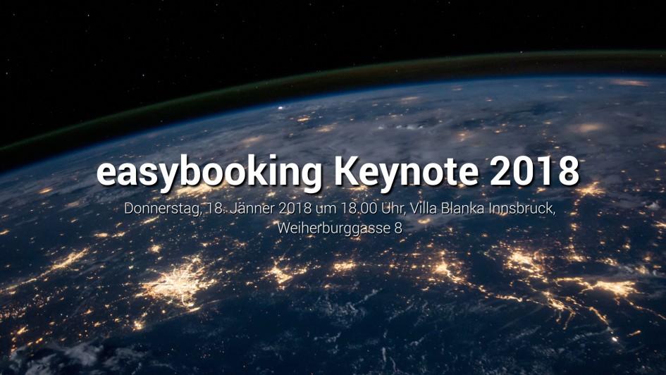 easybooking Keynote
