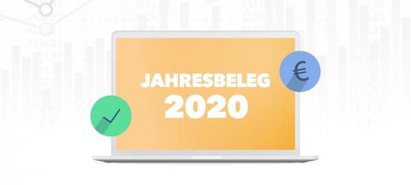 Jahresbeleg für 2020 in JULIA erstellen